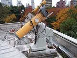 名古屋市科学館の屋上太陽望遠鏡