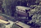 スイスで見たケーブルカー