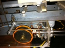 回転歯車と電磁石部アップ