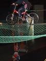 上海科学館の空中自転車